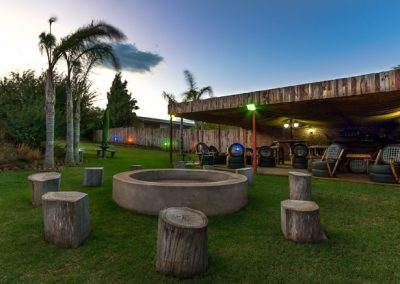 Fish Eagle Lodge Gariepdam Social Braai Area